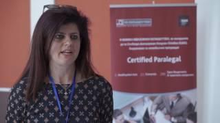 Ιωάννα Καρατζά, Γραμματέας του Δικ. γραφείου ΜΠΕΡΝΙΤΣΑΣ