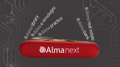 Η οικογένεια προϊόντων λογισμικού Alma next